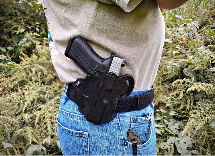Glock 43x desantis holster