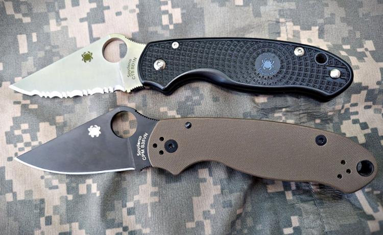 Spyderco Para 3 folding knife
