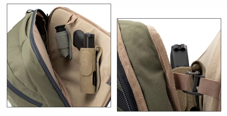 Commuter bag features displayed (2 of 2)