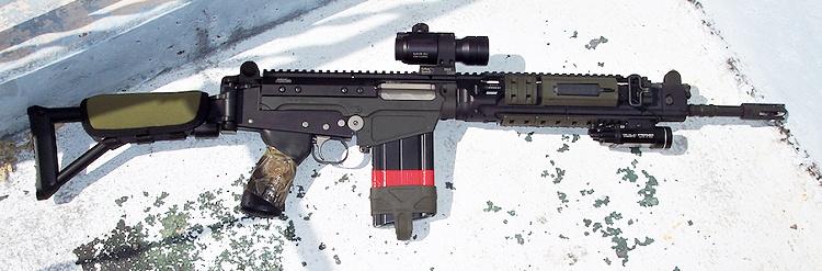 FAL with Aimpoint IOR Valdada 3x scope