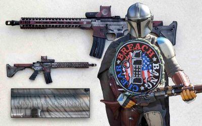Beskar Blaster: Mando's Build in 458 SOCOM