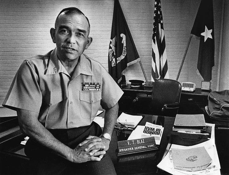 """Brigadier General Vicente """"Ben"""" Tomas Garrido Blaz"""