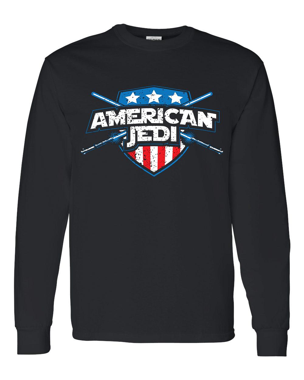 American Jedi shirt, long sleeve