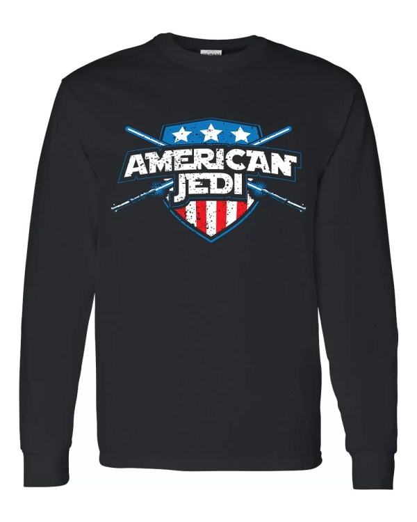American Jedi shirt, long sleeve