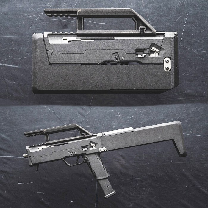FDC9 briefcase gun from Magpul
