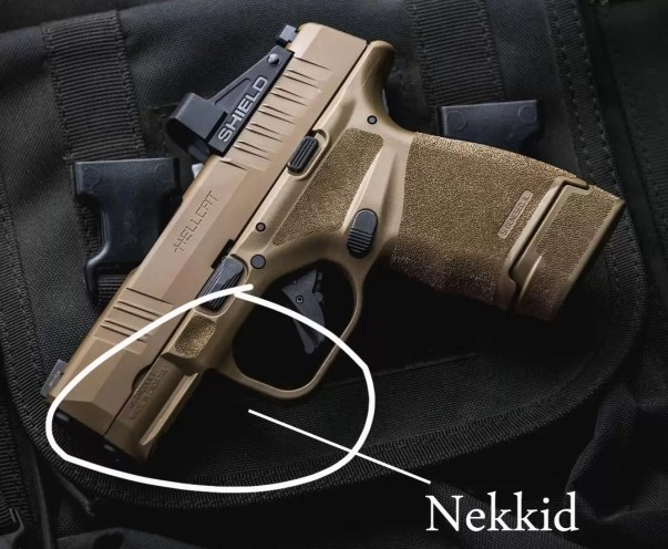Springfield Armory Hellcat without weapon light