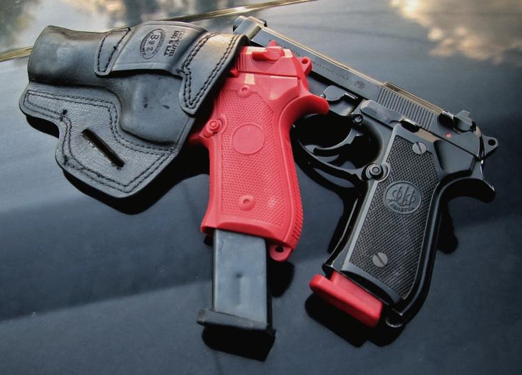 Red gun mags