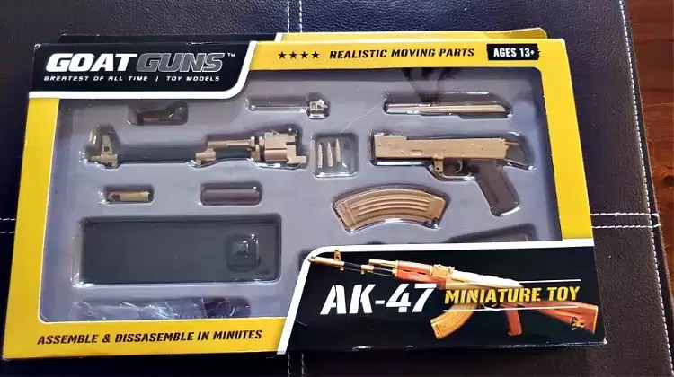 Goat Guns AK-47 in box