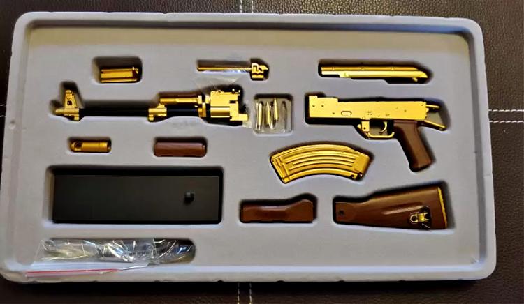 Goat Guns Gold AK-47