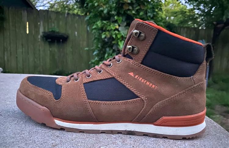 Ridgemont boot side profile