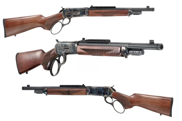 Looking at the TC86 Takedown Rifle from different angles.