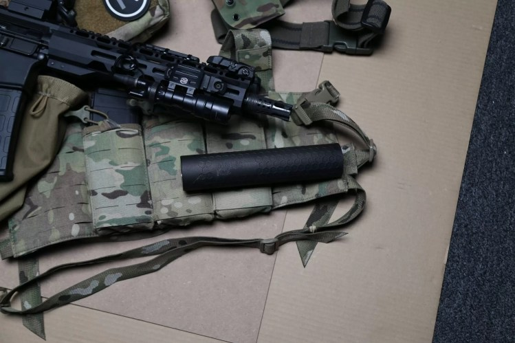 Radical Firearms SINTER 3D Printed Suppressor