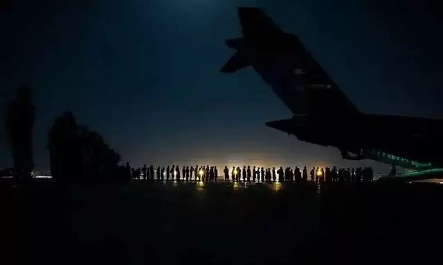 The Fall of Kabul and the Kabul Airlift