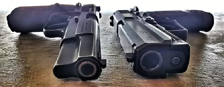 Browning Hi-Point and HK USP .45