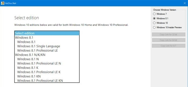 Download Official ISO of Windows and Office from Microsoft Servers