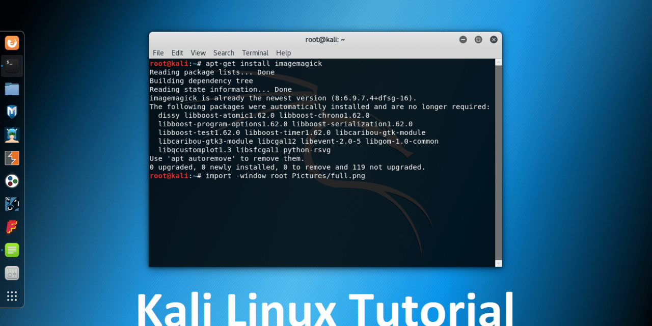 How to Capture Screenshot in Kali Linux? – Kali Linux Tutorial