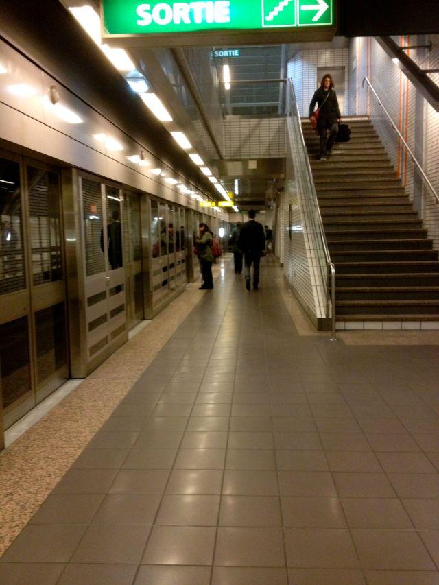 Toulouse Metro station