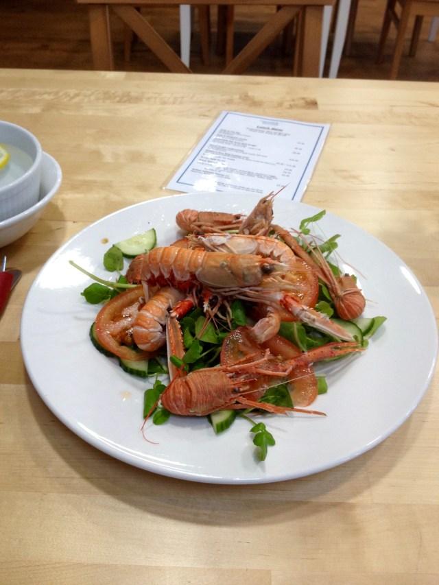Langoustines & Squat Lobster Salad
