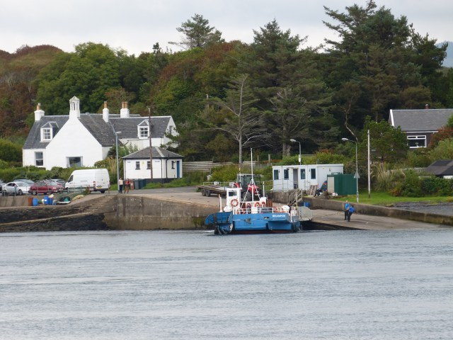 Ferry at North Cuan