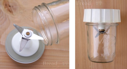 Canning Jar Magic Bullet