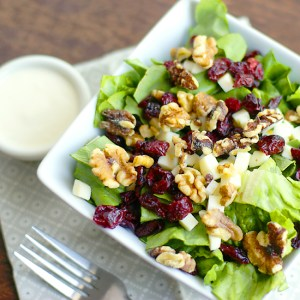 cranberry and walnut salad
