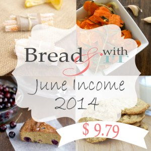 food blog income report