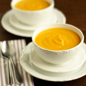 butternut squash and carrot soup