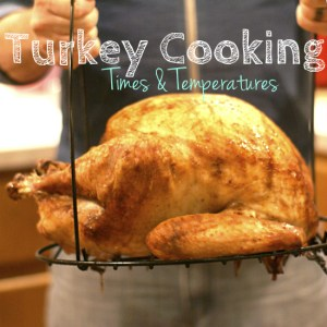 turkey cooking times and temperatures