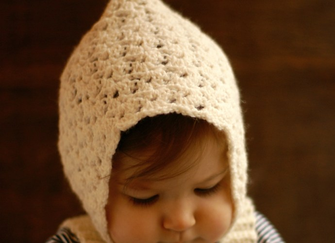 Vintage Pixie Hat Crochet Bread With It