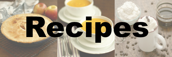 Recipes Banner