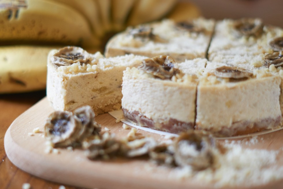 蛋糕拼盤 | 森林來的有機栽種香蕉 - 森林的喘息