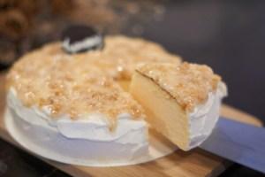黃金鳳梨輕乳酪 | 八卦山的鳳梨香