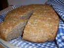 Rustic Cracked Wheat Bread