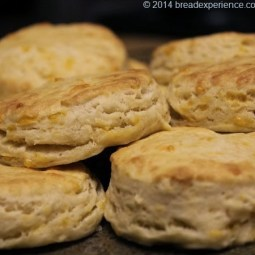 KAMUT Cheddar Biscuits