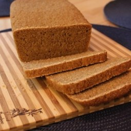 Sprouted Einkorn Bread with no flour