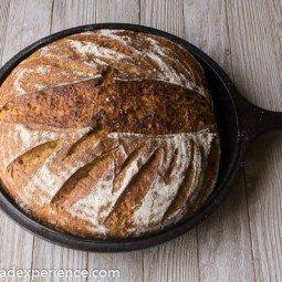 Sweet Potato Einkorn Sourdough Stout Bread
