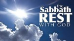 Invitation For A Sabbath Rest With God