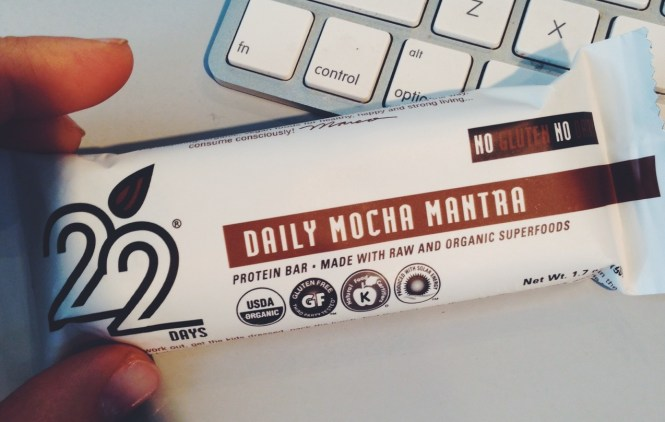 Daily Mocha Mantra 22 days