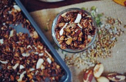 Chocolate Brazil Nut Gluten Free Buckwheat Granola - Breakfast Criminals