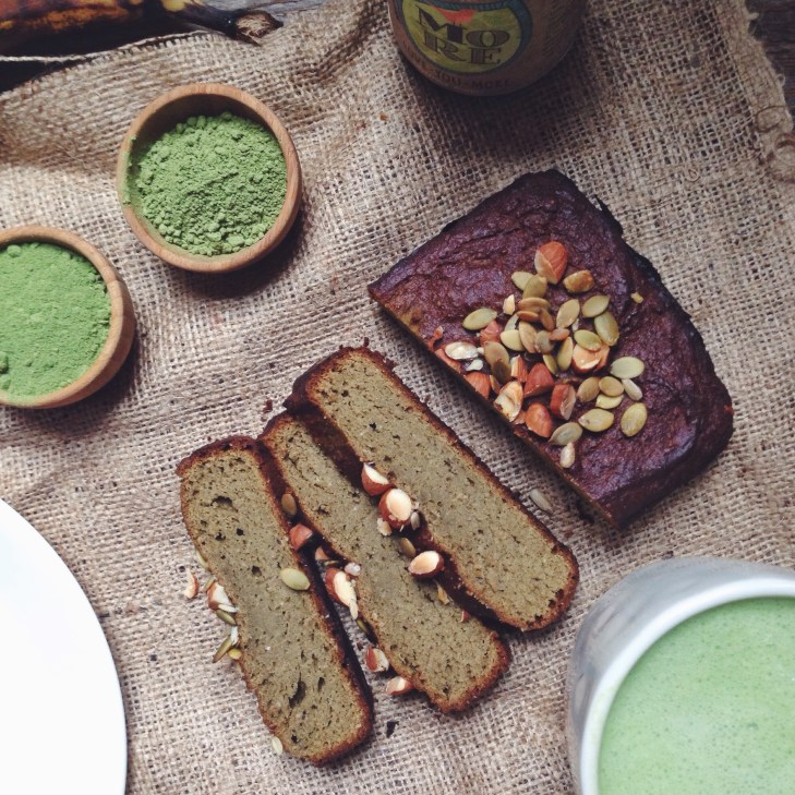 Matcha Protein Banana Bread Recipe with Tigernuts (It's Gluten Free!)