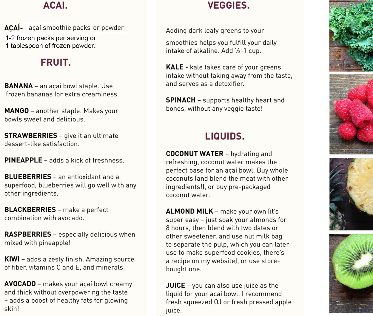 Everything You Need To Know About Açaí Bowls + 14 Recipes ...