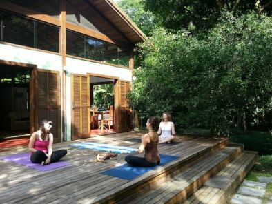 Brazil yoga retreat eco sitio Ilha Grande