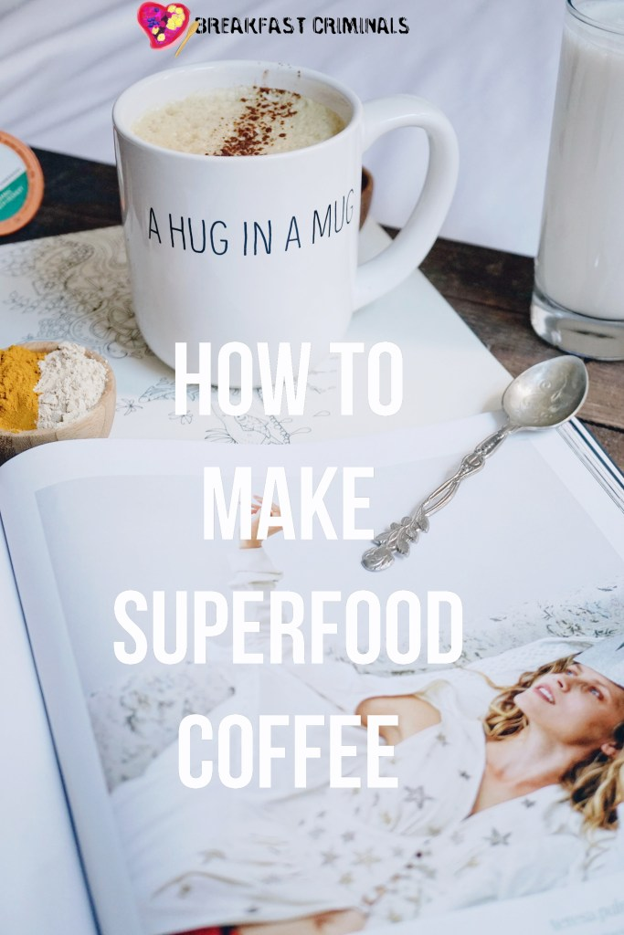 Superfood Coffee Recipe with Turmeric Coconut Oil