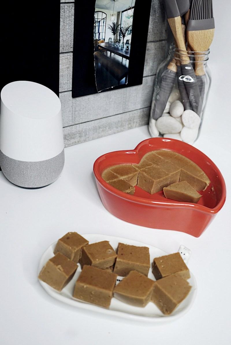 Google Home Cooking I Quit Sugar Gelatin Peanut Butter Fudge