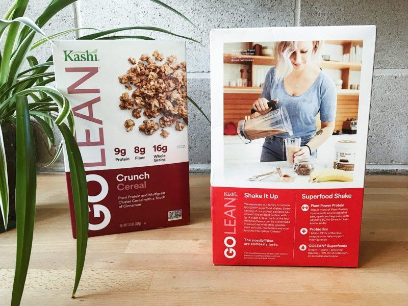 Breakfast Criminals Kashi Cereal Box Cover