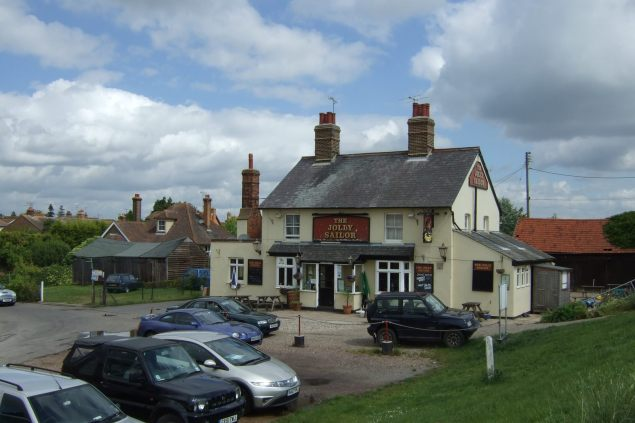 Photograph of The Jolly Sailor Public House Heybridge Basin, Essex.