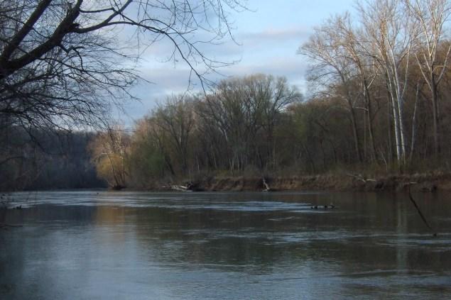 Meramec River at Meramec State Park, Missouri