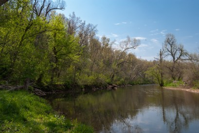 Little Sac River, near Willard, Missouri. Copyright © 2011 Gary Allman, all rights reserved.