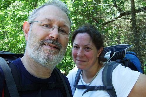 At the end of the hike. Copyright © 2011 Gary Allman, all rights reserved.