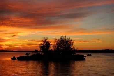 Sunset at Cedar Ridge, Stockton Lake, Missouri